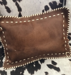 Cowhide-Boudoir-Pillow