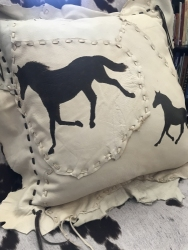 Painted-Horses-Pillow